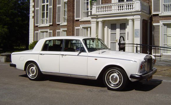 Rolls Royce Silver Shadow Wit
